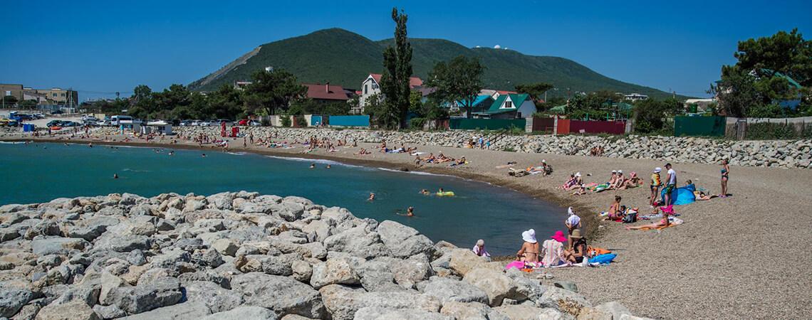 Пляж Мысхако в Новороссийске
